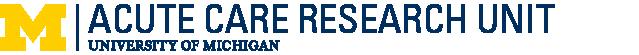 Acute Care Research Unit