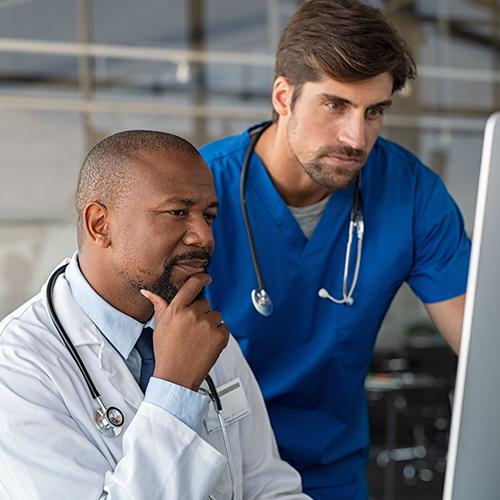 Evaluate risk factors for cognitive decline, such as hypertension.